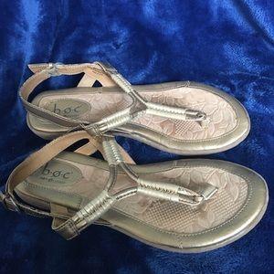B.O.C Gold Sandals